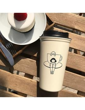 Cafe And Hof | Tumbler | 453ml by Etsy