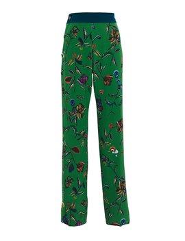 Silk Floral Track Pants by Derek Lam 10 Crosby
