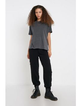 Uo Washed Cotton Boyfriend Tee by Urban Outfitters