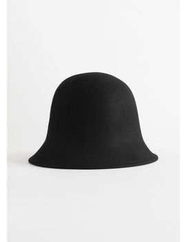 Wool Felt Bucket Hat by & Other Stories