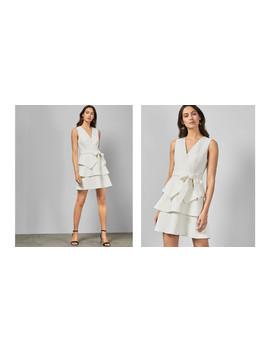 Gestuftes Kleid Mit Stickereien by Ted Baker
