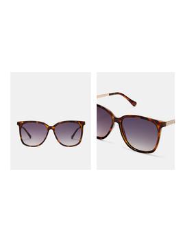Eckige Sonnenbrille Mit Metall Details by Ted Baker