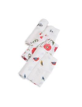 Little Unicorn Cotton Muslin Swaddle 3pk   Summer Poppy by Summer Poppy