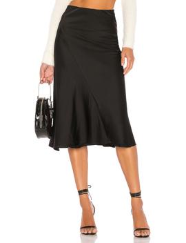 Kara Skirt In Black by Majorelle