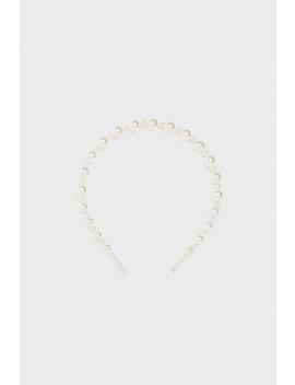 Pearl Bead Headband Hair Accessories Accessories Woman by Zara