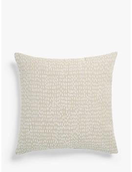 John Lewis & Partners Fusion Dash Cushion, Natural by John Lewis & Partners