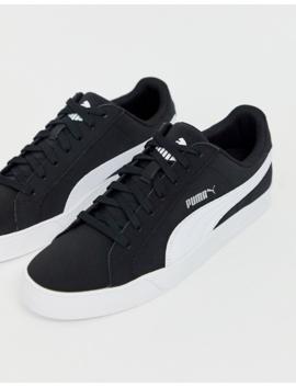 Puma Smash Vulc Sneakers In Black by Puma