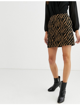 Warehouse Zebra Pelmet Skirt by Warehouse