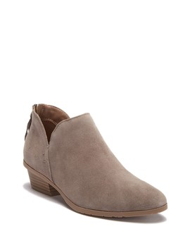 Side Way Suede Ankle Bootie by Kenneth Cole Reaction