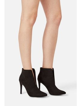 Miley Heeled Bootie by Justfab
