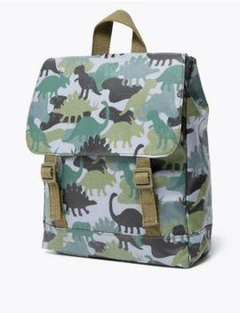 Kids' Dinosaur Print Backpack by Marks & Spencer