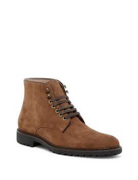 Leather Mid Boot by Rush By Gordon Rush
