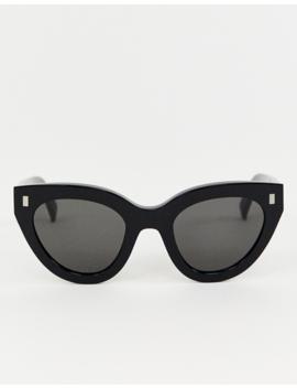 Monokel Eyewear   Neko   Lunettes De Soleil Yeux De Chat   Noir by Monokel