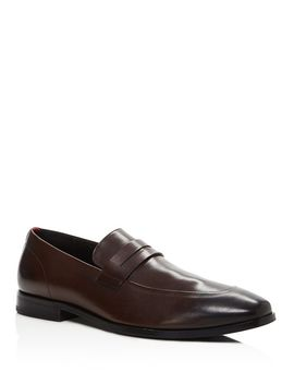Men's Highline Leather Loafers   100 Percents Exclusive by Boss