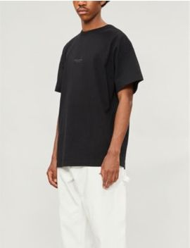 Jaxon Loose Fit Cotton Jersey T Shirt by Acne Studios