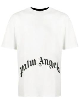 T Shirt à Logo Imprimé by Palm Angels