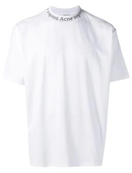 Camiseta Navid Com Gola Careca by Acne Studios
