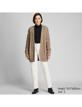 Cardigan Confort Femme by Uniqlo