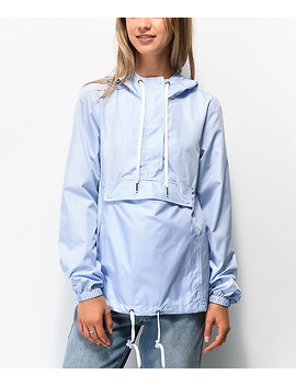 Zine Elion Medium Blue Anorak Jacket by Zine