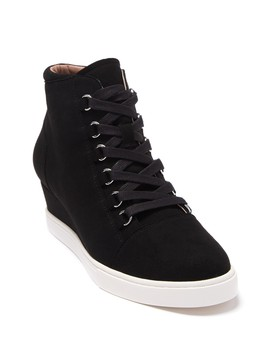 Brenna Wedge Sneaker by Linea Paolo