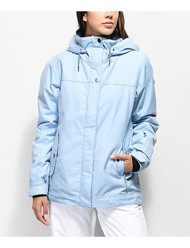 Roxy Billie Powder Blue 10 K Snowboard Jacket by Roxy