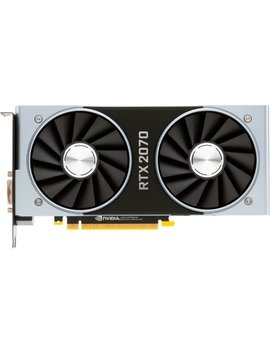 Ge Force Rtx 2070 Founders Edition 8 Gb Gddr6 Pci Express 3.1 Graphics Card by Nvidia