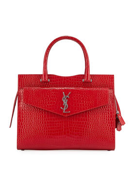 Uptown East West Satchel Bag by Saint Laurent