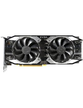 Ge Force Rtx 2070 Xc Ultra Gaming 8 Gb Gddr6 Pci Express 3.0 Graphics Card With Dual Hdb Fans & Rgb Led by Evga