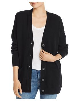 Boyfriend Cashmere Cardigan   100% Exclusive by Aqua Cashmere