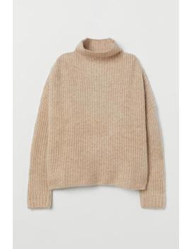 리브드 울 블렌드 스웨터 by H&M