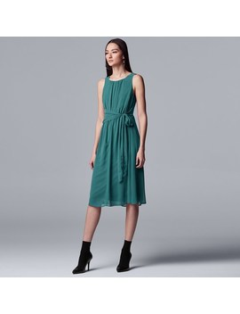 Women's Simply Vera Vera Wang Knot Waist Dress by Simply Vera Vera Wang