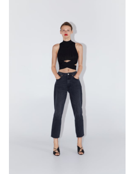 Top A Costine Cut Out  Visualizza Tutto Jeans Donna by Zara
