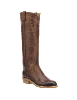Dora Crisscross Western Boots by Lucchese