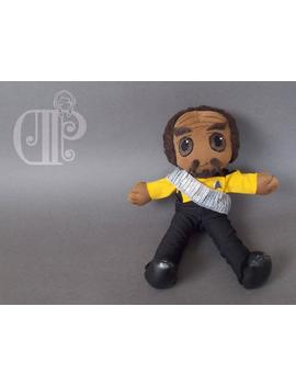 Worf Star Trek The Next Generation Plush Doll Plushie Toy by Etsy