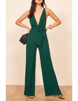 Sofi Tie Waist Jumpsuit by Reformation