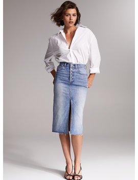 The Emmylou Long Skirt by Denim Forum