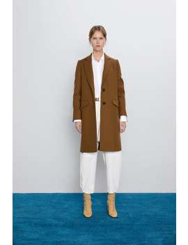 Menswear Coat Coatswoman by Zara