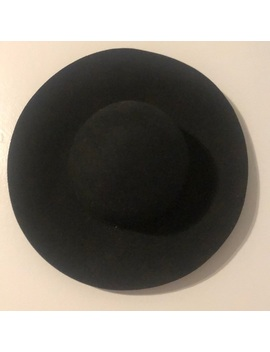 Wide Brimmed Black Hat Preowned/Used by Poshmark