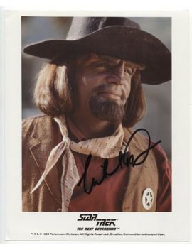 Michael Dorn Signed 8x10 Inch Photo Autographed Signature Star Trek Tng Worf by Ebay Seller