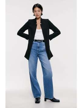 Inverted Lapel Frock Coat Coats Coats Woman by Zara