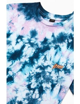10 Deep Slime & Fury Tie Dyed T Shirt by Pacsun