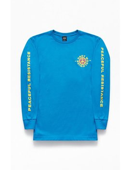 Obey Peaceful Resistance Long Sleeve T Shirt by Pacsun