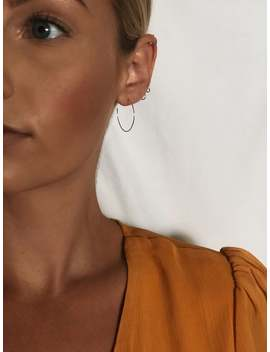 25mm Open Circle Hoops Earrings / 22 Gauge / 12k Gold Fill, Sterling Silver, Ss Fill / Nose Septum Piercing / Minimalist Modern Dainty by Etsy