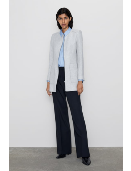 Frock Coat With Pockets New Inwoman by Zara