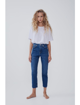 Hi Rise Trumpet Jeans  High Waist Jeans Woman by Zara