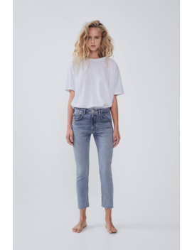 Mid Rise Slim Fit Slouchy Jeans  Join Lifewoman Cornershops by Zara
