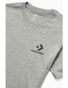 Converse Gray Left Chest Star Chevron T Shirt by Pacsun