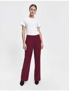 Max Twill Trouser by Just Female