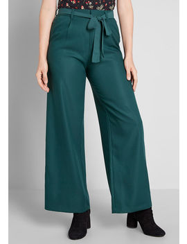 The Savannah Wide Leg Pants by Modcloth