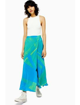 **Printed Silk Skirt By Boutique by Topshop